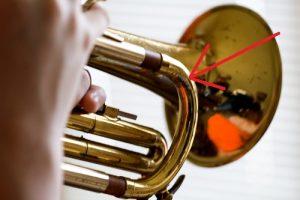 Bomba afinación trompeta